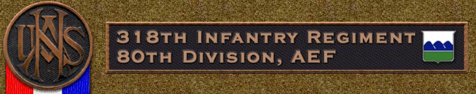 80 Division, 318th Infantry Regiment, A.E.F.